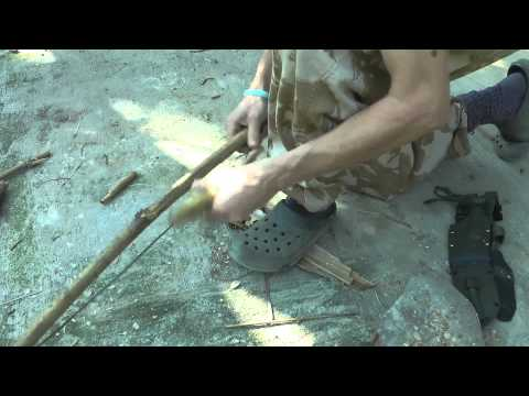 Bamboo bow drill