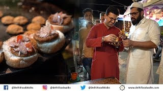 Bhopal IFTAR Walk - Bun Kebab + Namkeen Chai + Kebab Lollipop