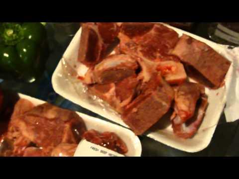 How to make soup Joumou or pumpkin soup---the Haitian way part 1