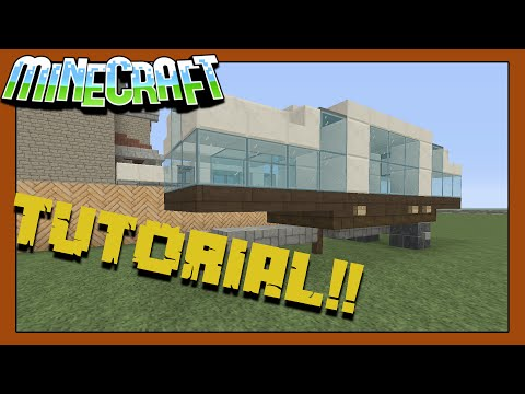 LETS BUILD A CAMPER IN MINECRAFT!!