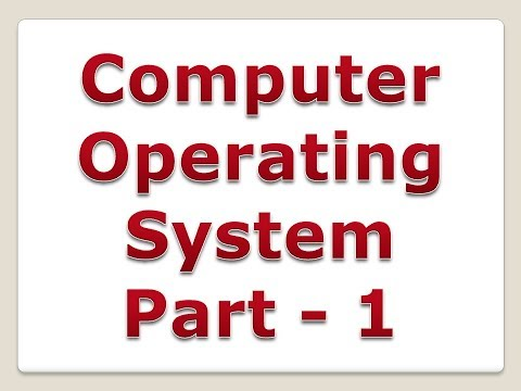 Operating System in Hindi | Part 1