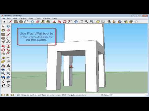 Basic Chair (Sketchup) Tutorial