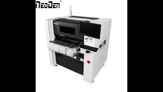 NeoDen 2018 New model-NeoDen7 Pick and place machine in real PCB Mounting production
