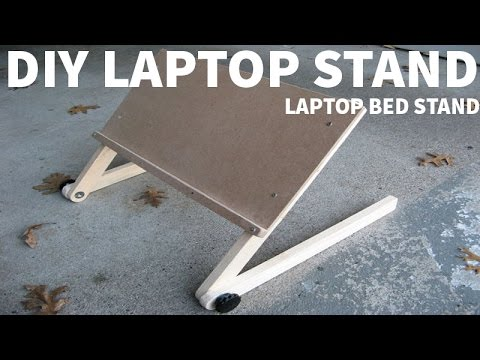 How to make a laptop bed stand ✔️ (easy) 2017