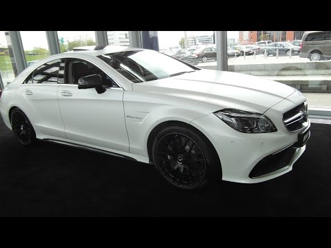2015 Mercedes-Benz CLS 63 AMG 4Matic $200K Detailed In Depth Review Interior Exterior Presentation