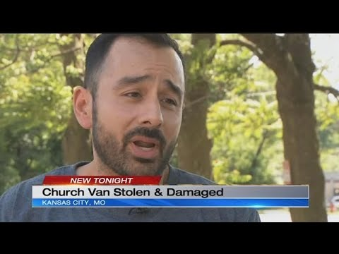 Local church faces expense of repairing stolen, damaged van