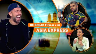 DE SPEAK Firu-n Patru in #AsiaExpress - Episod 2