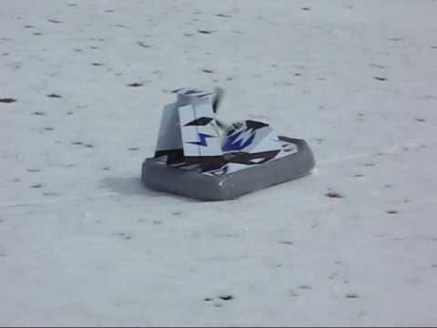 Scratch-Built RC Hovercraft