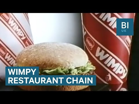 Inside Wimpy, the UK's forgotten fast food chain