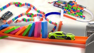 Hot Wheels + Dominoes with H5 Domino Creations