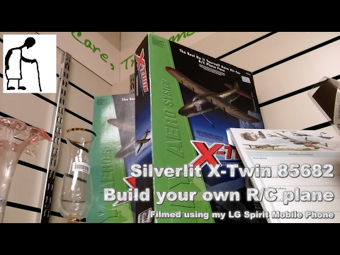 Charity Shop Short - Silverlit X Twin Build your own RC plane 85682