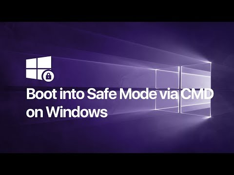 How to Boot into Safe Mode via Command Prompt - Windows