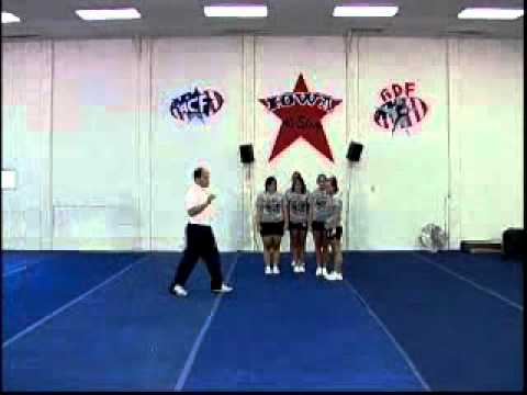 Advanced Cheerleading Stunts - Cheerleading Instruction DVD