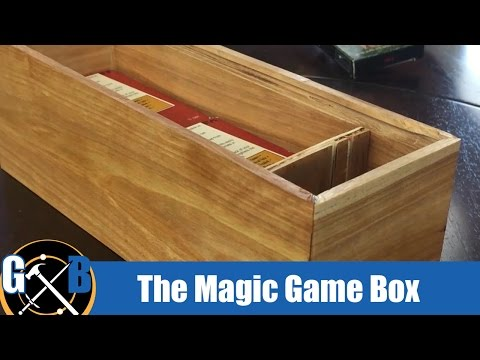 Make a Custom Trading Card Game Box :: BUILD