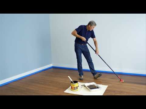 Refinish Floors in 1 Step | Minwax Complete 1-Step Floor Finish | Just Ask Bruce