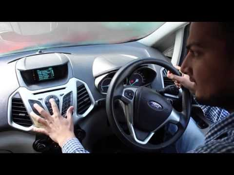 How to use Bluetooth, AUX, USB on Ford SYNC music system