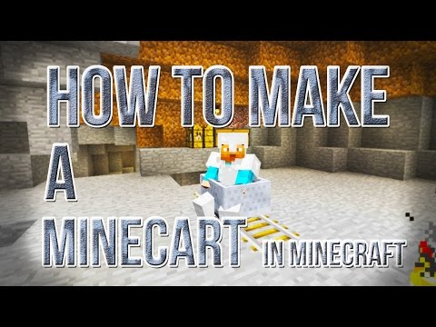 How To Make A Minecart in Minecraft [Crafting Recipe]