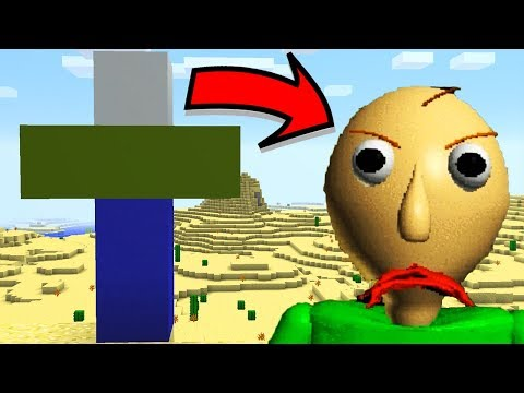 How To Spawn BALDI in Minecraft PE