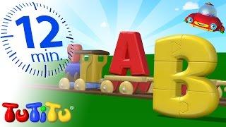 Tutitu Preschool | Abc Puzzle Train | Learning The Alphabet With Tutitu