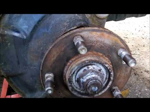 How to change 2009-2014 KIA Soul front brake pads and rotors