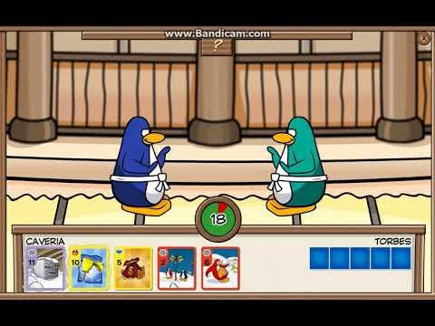 Club Penguin Rewritten Card Jitsu - Caveria vs. Torbes Part 2