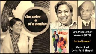 Lata Mangeshkar - Vandana (1975) - 'rut hai jawaan'