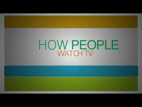 Make A TV Commercial for Your Business: How People Watch TV