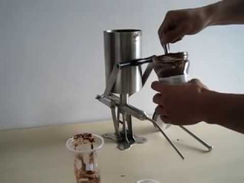 caracel filler/nutella filler/caracel dispenser/nutella dispenser/Rellenadora de Churros