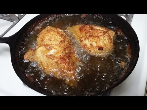 Cast Iron Cooking Fried Chicken Recipe