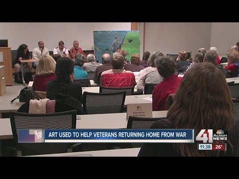 Art used to help veterans returning home from war