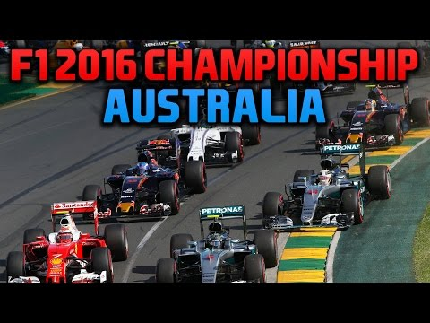 rFactor F1 2016 NRL - Round 1 - Australian Grand Prix