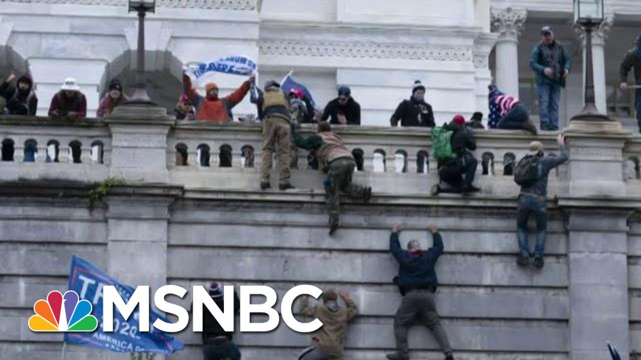 The Link From MAGA Riot To White Supremacy In U.S. Policing | The Beat With Ari Melber | MSNBC