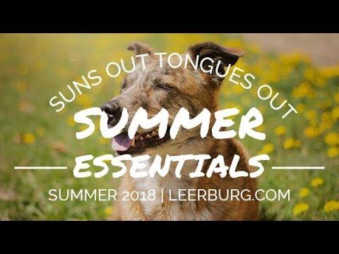 Summer Essentials at Leerburg