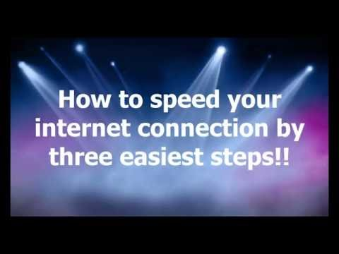 How to speed up your internet connection for real in windows 7/8