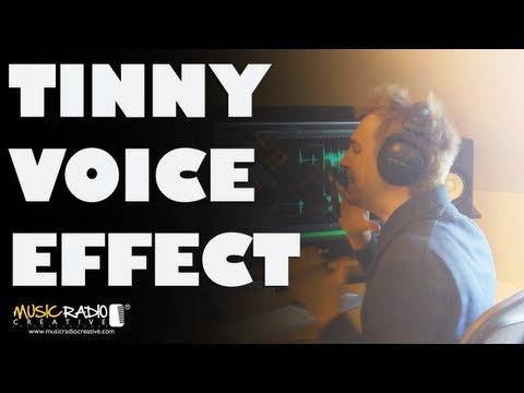 Tinny Voice Effect - Adobe Audition CS6 Drop Off Below 250Hz