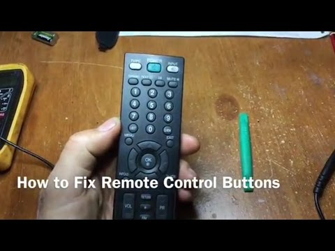 How to Fix Remote Control Buttons