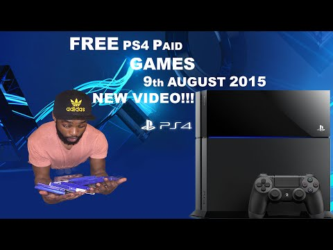 How to get a Free PS4 GAMES 9th August 2015 (NEW & FREE!!!)