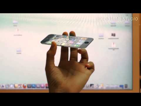 IPhone 5 Holographic Technology in Memory of Steve Jobs