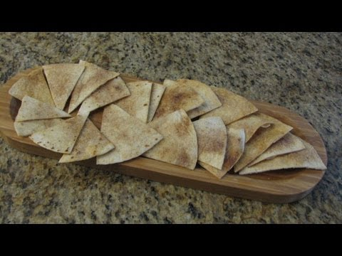 Cinnamon-Sugar Tortilla Chips - Lynn's Recipes