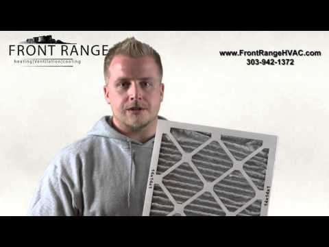 When should I change my air filter based on manufacturer recommendations?