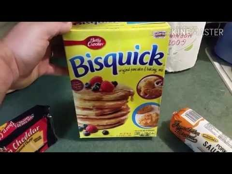 Bisquick Sausage and Cheese Biscuits   Southern Food Junkie Recipes