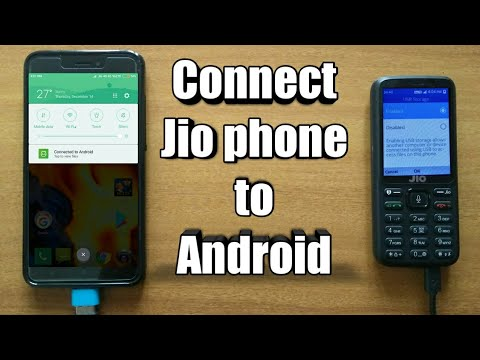 Connect Jio Phone to any Android device