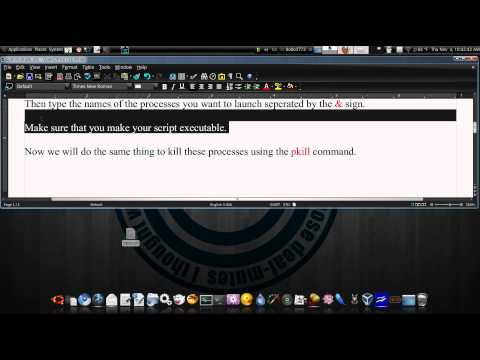 How To Open And Close Multiple Applications Simultaneously In Ubuntu 10.04
