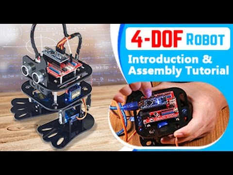 Sloth Arduino DIY 4-DOF Humanoid Robot Learning Kit with Programming (Assembly Tutorial )