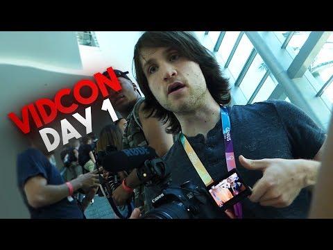 McJuggerNuggets at VidCon 2017 (Day 1) (ft. Ricegum, Boogie2988, DanTDM, Jacksfilms, & Faze Clan)
