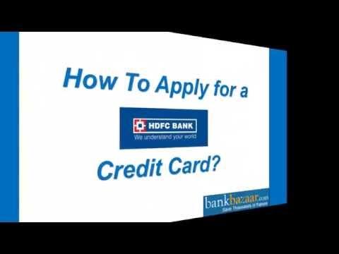 How to Apply For a HDFC Credit Card ?