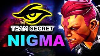 NIGMA vs SECRET - INCREDIBLE GAME - BEYOND EPIC DOTA 2