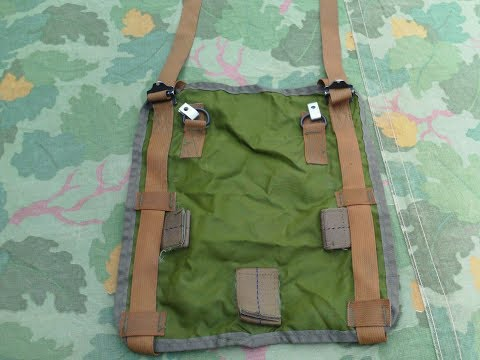 US military M-1967 Sleeping bag carrier review