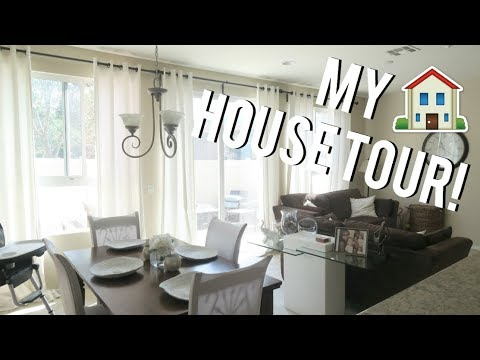MY HOUSE TOUR! Family of 3!