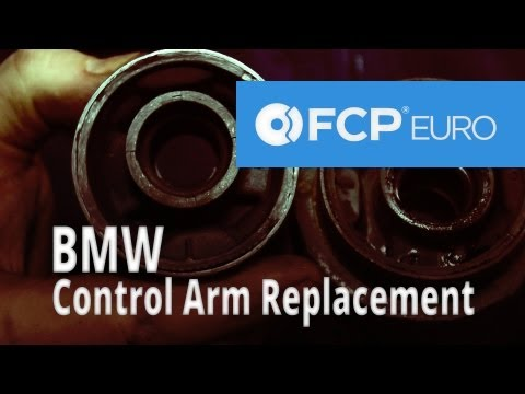 BMW Control Arm Replacement (Arm & Bushing E46) FCP Euro